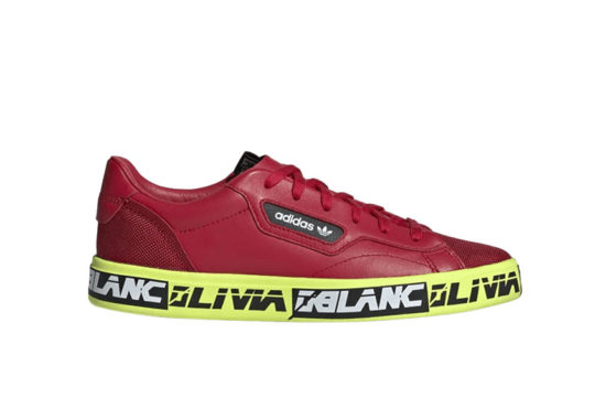 adidas x Olivia Oblanc Sleek Red Volt ef6556