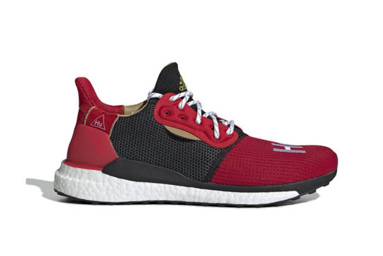 Pharrell x adidas Solar Hu Chinese New Year Red Black ee8701
