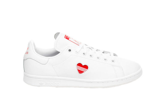 adidas Stan Smith White Red Womens g27893