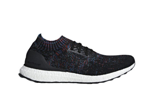 adidas Ultra Boost Uncaged Black Red Multi b37692