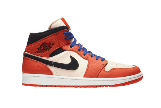Jordan 1 Mid SE Team Orange 852542-800