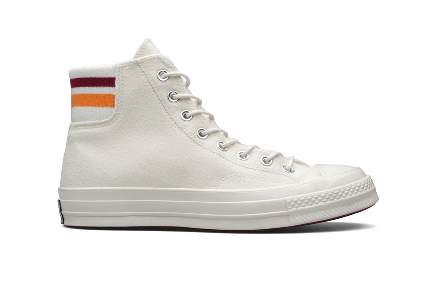 Converse Chuck Taylor 70 Hi White Orange 163364c