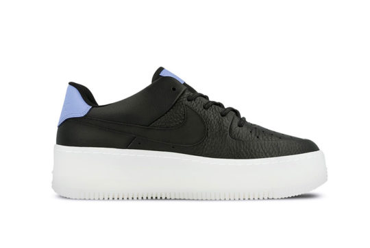 Nike Air Force 1 Sage Low LX Black White Women's bv1976--001
