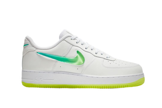 Nike Air Force 1 White Yellow at4143-100
