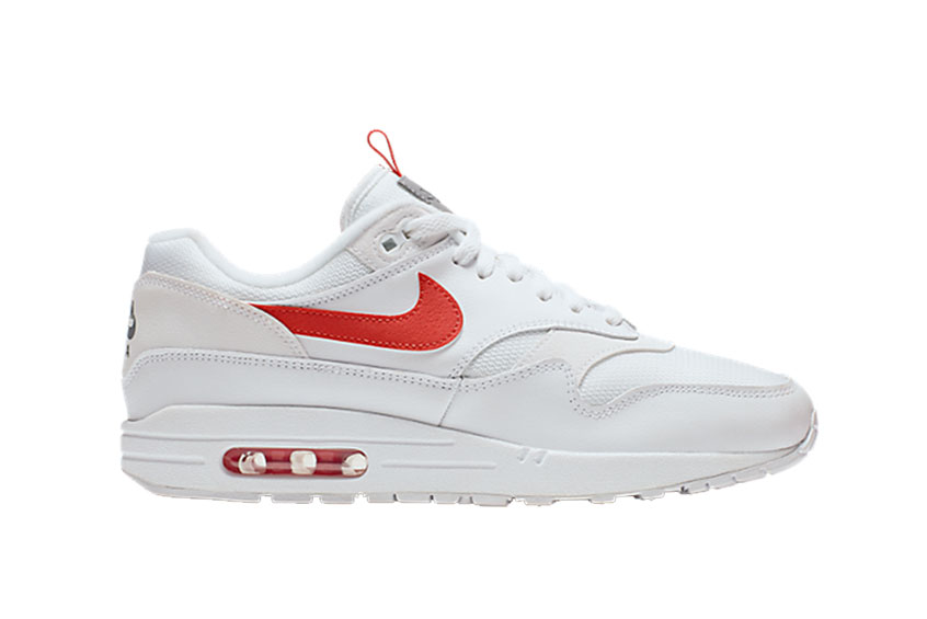How to buy the Nike Air Max 1 SE White Team Orange   d8d5789f6