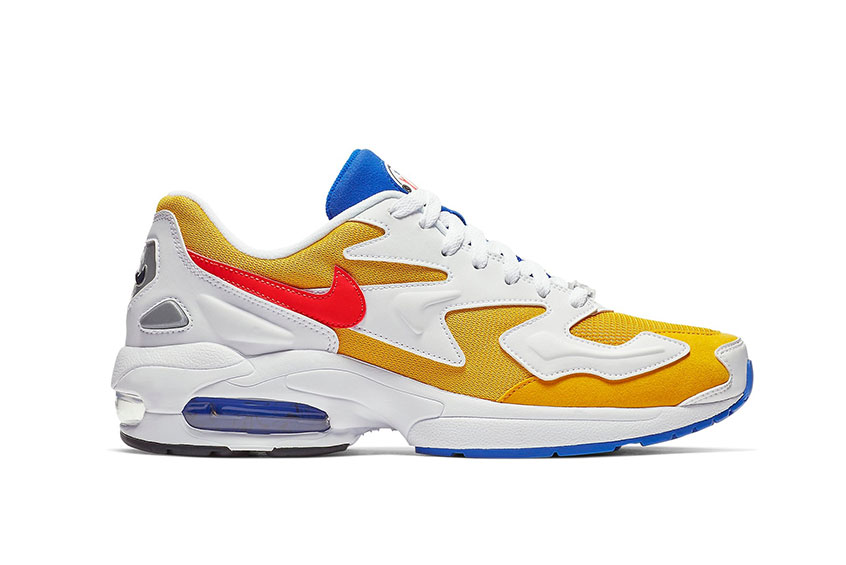 Nike Air Max2 Light University Gold : Release date, Price & Info