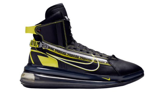 Nike Air Max 720 Saturn AS Black Yellow Motorsport bv7786-001