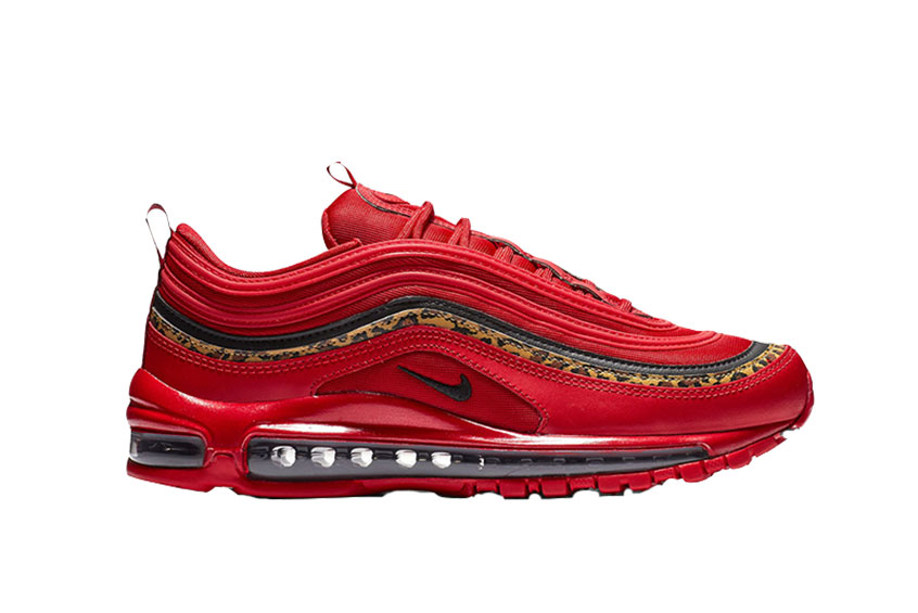 Nike Air Max 97 Red Leopard Pack Womens bv6113-600
