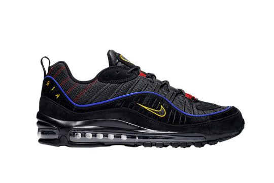 Nike Air Max 98 Black Blue cd1537-001