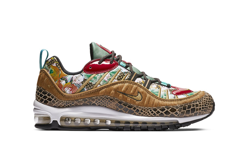 undefeated x lace up in special for shoe Nike Air Max 98 Chinese New Year 2019 : Release date, Price & Info