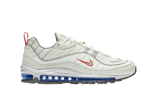 Nike Air Max 98 White Silver cd1538-100