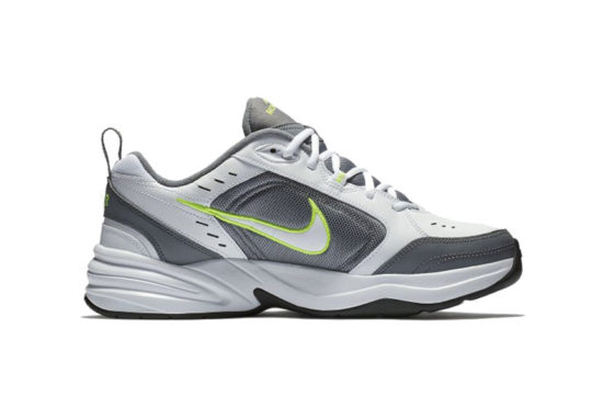 Nike Air Monarch IV Grey Volt 415445-100