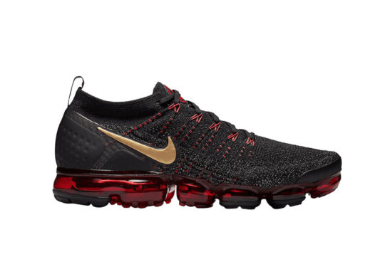 Nike Air VaporMax 2 Chinese New Year Black Red bq7036-001