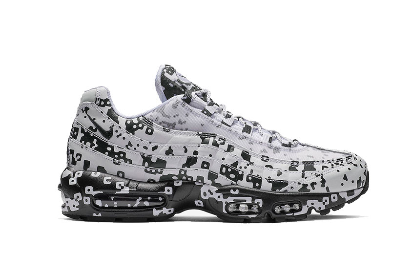 reputable site 4ca3a bfbe9 Cav Empt x Nike Air Max 95 White Black : Release date, Preis & Infos