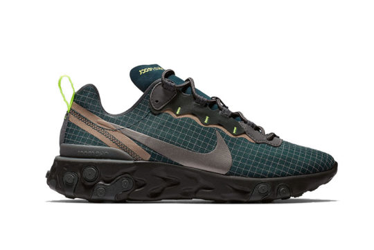 Nike React Element 55 Green Grid cd1503-400