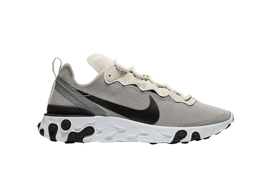 Nike React Element 55 Tan Cream bq6166 100