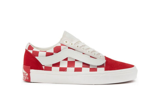 Purlicue x Vans Old Skool LX Year Of The Pig White Red va38g1shj