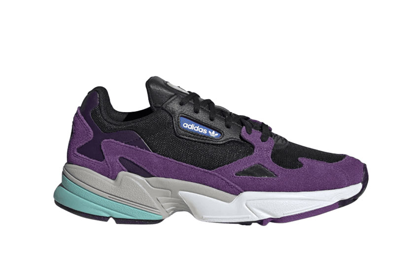 adidas Falcon Black Purple cg6216