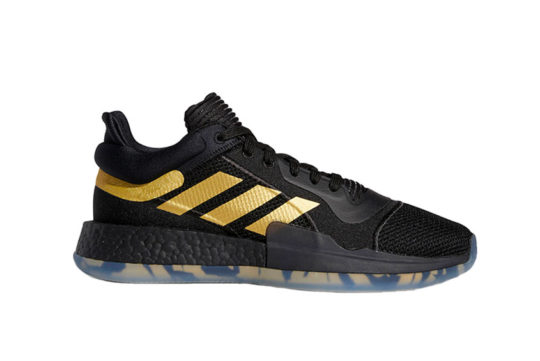 adidas Marquee Boost Low Black Gold ee8572