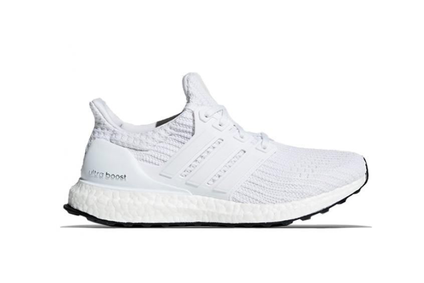 uk availability f08a4 f7319 adidas UltraBOOST Triple White : Release date, Price & Info