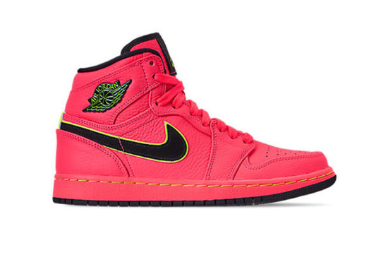 Air Jordan 1 High Retro Premium Hot Punch aq9131-600