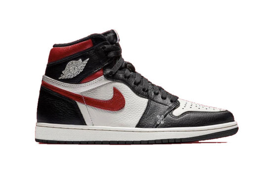 Air Jordan 1 Retro High OG Black White Gym Red 555088-061
