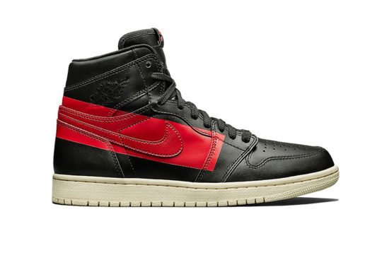Air Jordan 1 Retro High OG Defiant Black Red bq6682-006