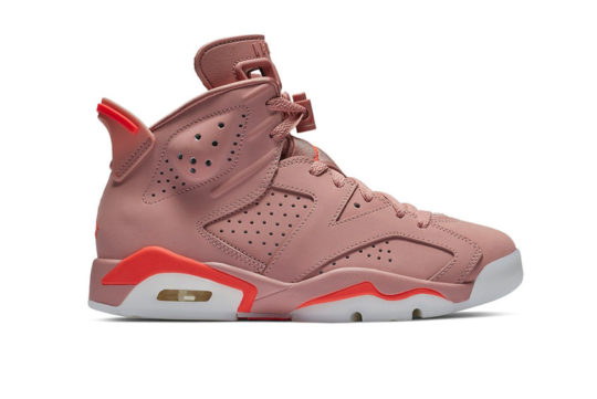 Aleali May x Air Jordan 6 Rust Pink ci0550-600
