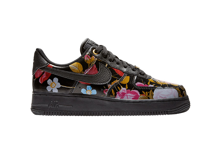 quality design 852a5 1617c How to buy the Nike Air Force 1  07 LXX Black Floral