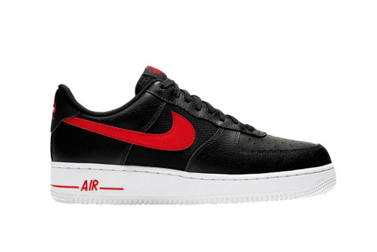 Nike Air Force 1 Black Red cd1516-001