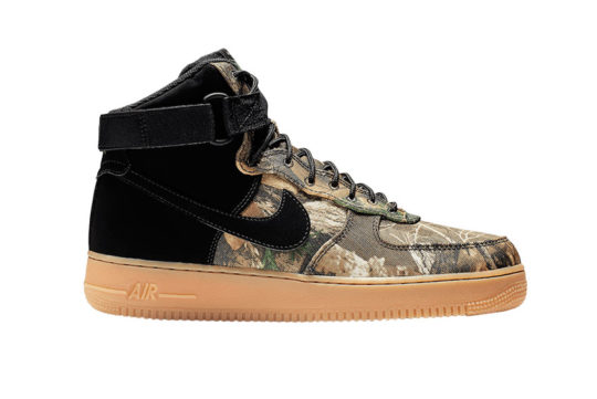Nike Air Force 1 High Realtree Black ao2410-001