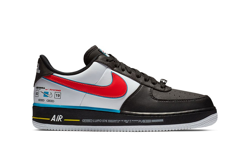 Nike Air Force 1 Racing All Star : Release date, Preis & Infos