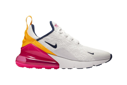 Nike Air Max 270 White Pink Women's ah6789-106