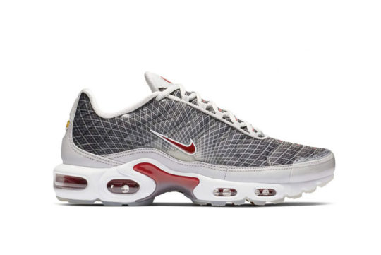 Nike Air Max Plus « The Grid » Grey Red bv1983-001