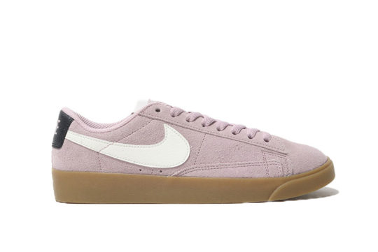 Nike Blazer Low Suede Plum Chalk av9373-500