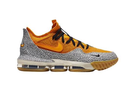 Nike LEBRON 16 Low x atmos Safari cd9471-800
