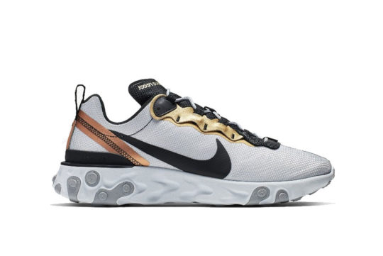 Nike React Element 55 Pure Platinum cd7627-001