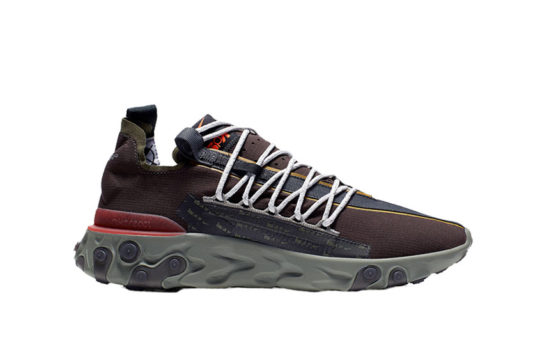 Nike React WR ISPA Velvet Brown Orange ar8555-200