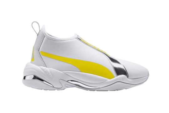 PUMA Thunder TZ Metallic White Yellow 369488-01