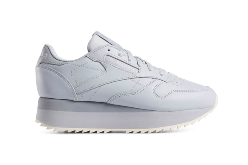Reebok Classic Leather Double Grey : Release date, Price & Info