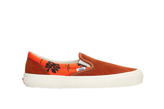 Vans OG Classic Slip-On LX Orange vn0a45jkvqj