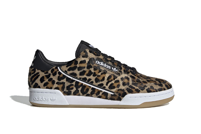 adidas Continental 80 Leopard : Release