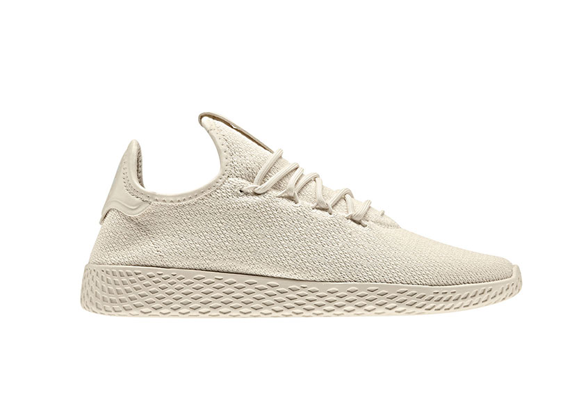 best wholesaler size 7 cheapest price adidas x Pharrell Williams Tennis HU Beige : Release date, Price & Info