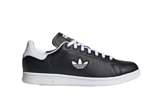 adidas Stan Smith Black White Trefoil bd7452