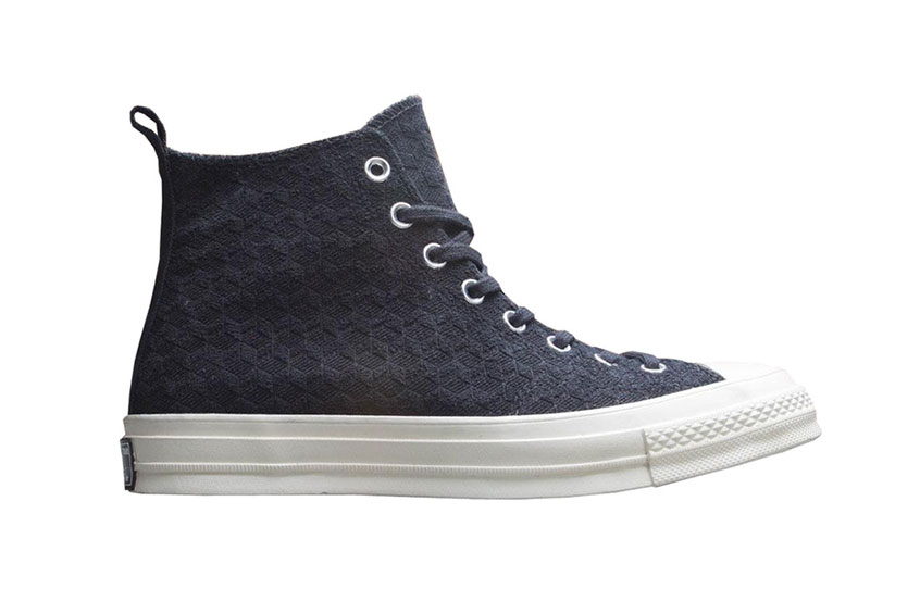 Converse Chuck Taylor All-Star 70s Hi DOE Be Formless Black 165549c