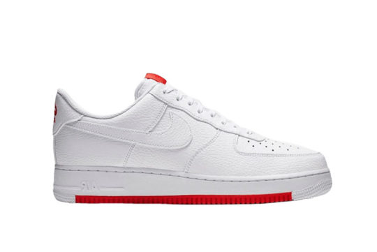 Nike Air Force 1 07 1 White Red ao2409-101