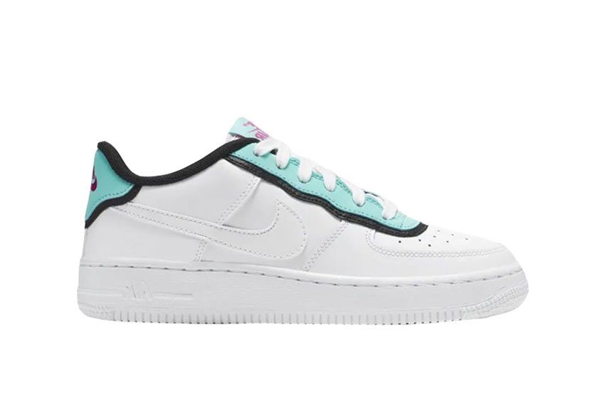 finest selection 05055 779eb How to buy the Nike Air Force 1 LV8 1 DBL White Aqua