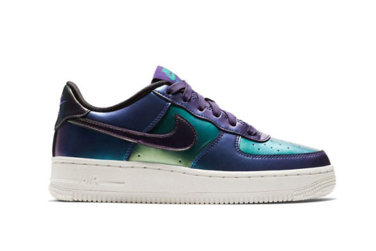 Nike Air Force 1 LV8 Holographic Purple GS 849345-500
