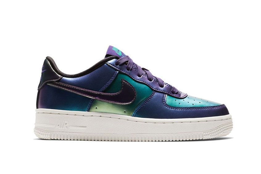 Nike Air Force 1 LV8 Holographic Purple GS : Release date, Price & Info