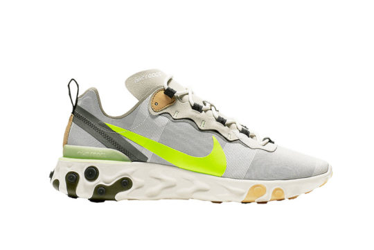 Nike React Element 55 Grey Volt bq6166-009